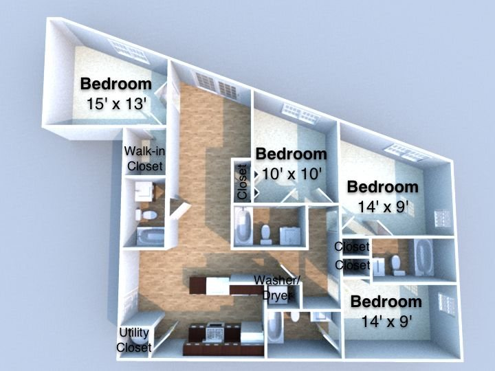 Crossing at Chauncey Hill Floorplan